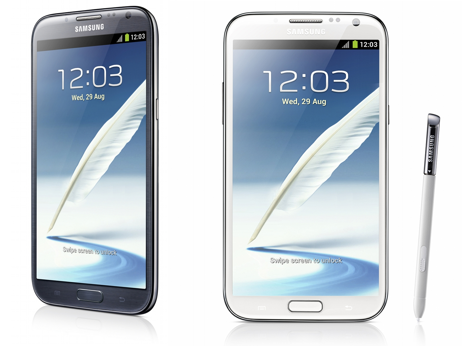 Samsung Galaxy Note II Revealed at IFA 2012