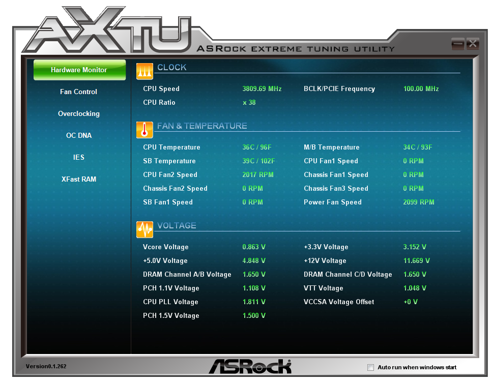 ASRock X79 Extreme11 Software - ASRock X79 Extreme11 Review