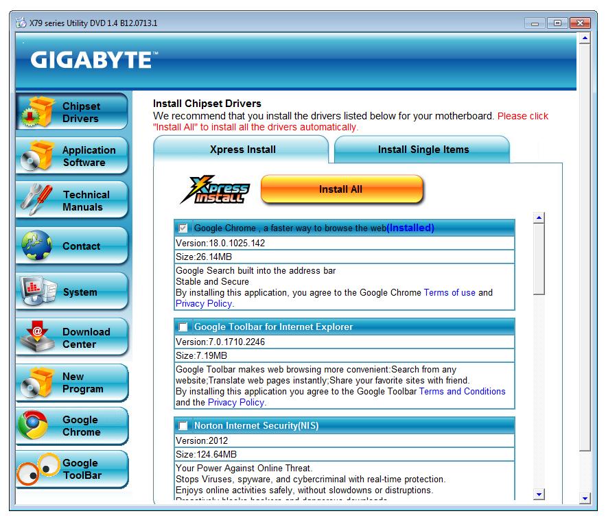 gigabyte usb 3.0 drivers tool