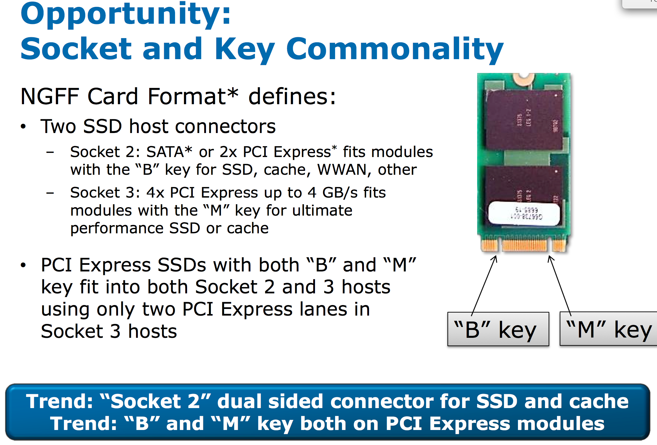 NGFF SSDs: Putting an End to Proprietary Ultrabook SSD Form Factors