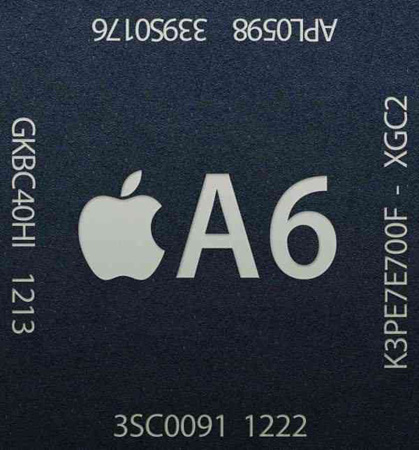 Apple A6 Chip 575px iPhone 5 Memory Size and Speed Revealed: 1GB LPDDR2 1066