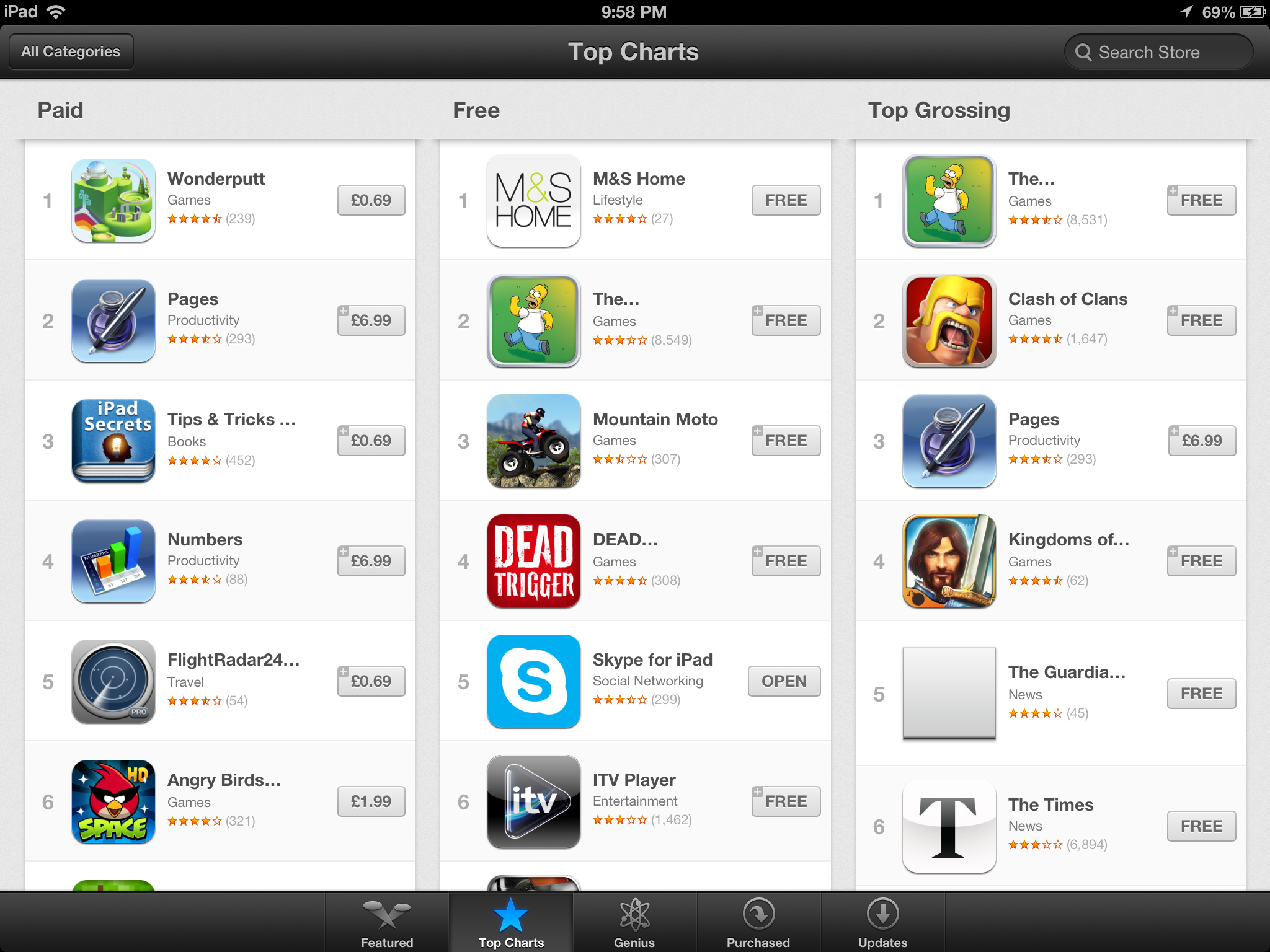 The New Itunes And App Store The Ios 6 Review Maps