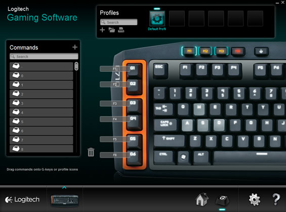 In Practice: The Software - Logitech G710+ Mechanical
