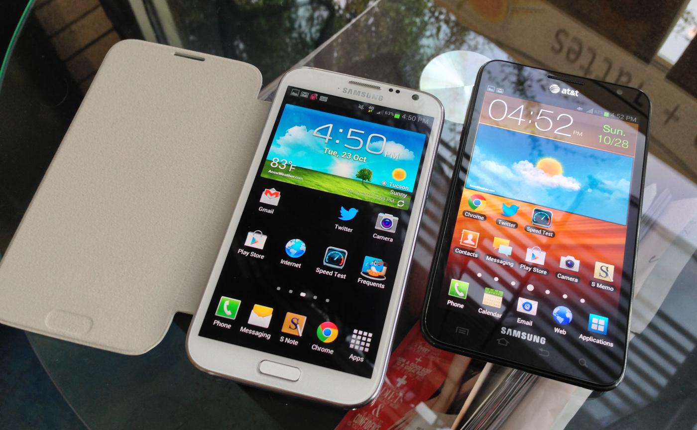 Thiết kế của Galaxy Note 2