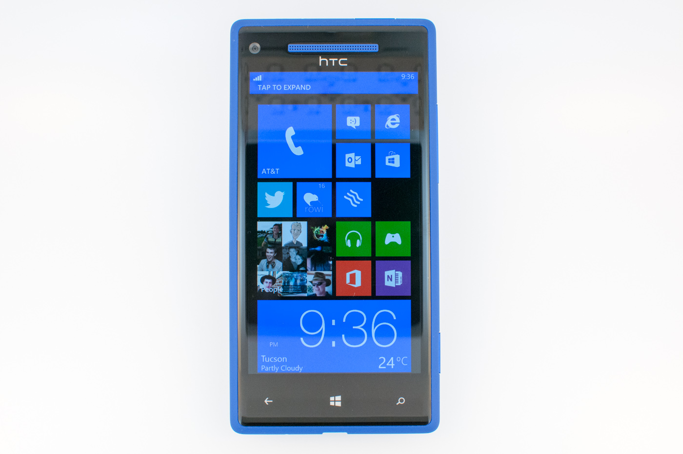 Windows Phone 8x By Htc Preview