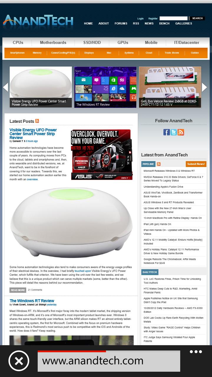 IE 10, NFC, Screenshots, OTA Updates, Backups