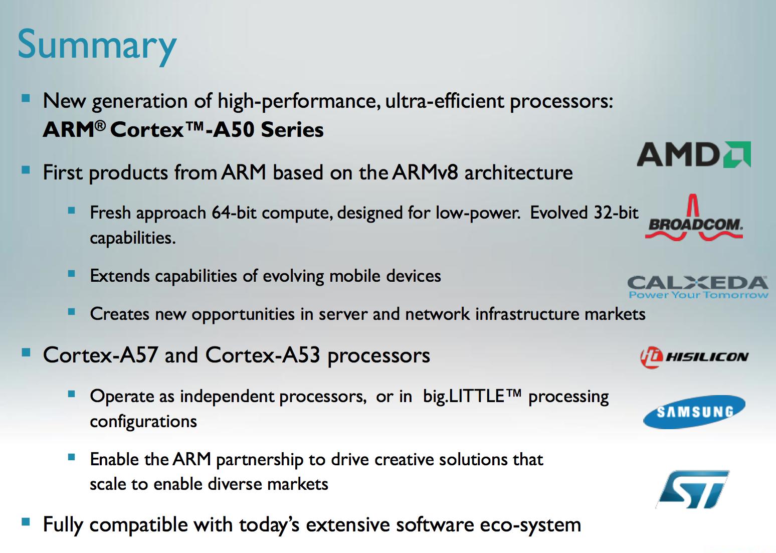 ARM's Cortex A57 and Cortex A53: The First 64-bit ARMv8 CPU
