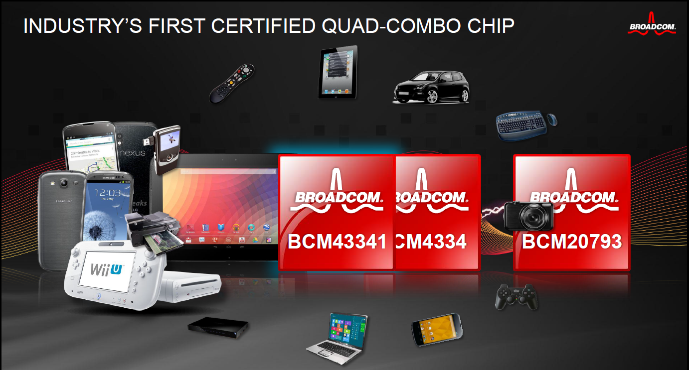 Broadcom's pre-CES Sneak Peek: BCM 43341 NFC Combo Chip and More