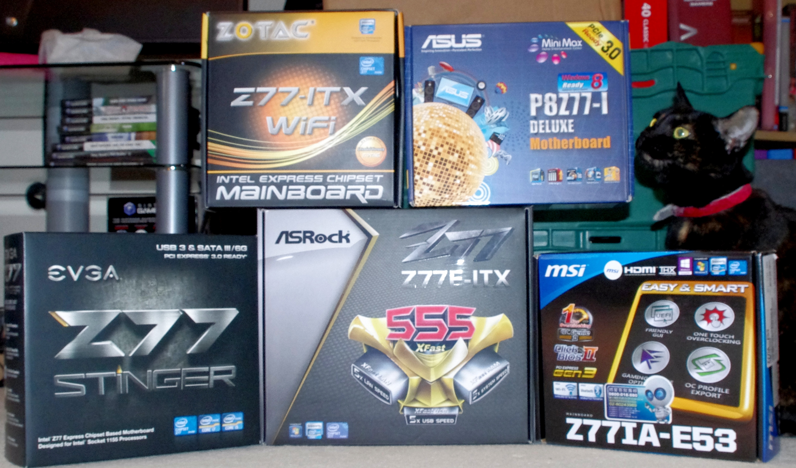 Z77 mITX Round-Up: Five of the Best – MSI, Zotac, ASRock