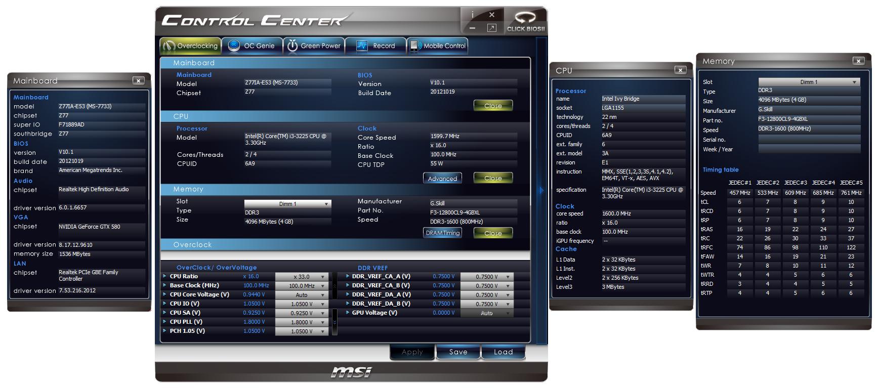 MSI Z77IA-E53 In The Box, Software - Z77 mITX Round-Up: Five