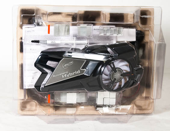 Arctic Cooling Accelero Hybrid VGA Cooler Review: Not For the Faint