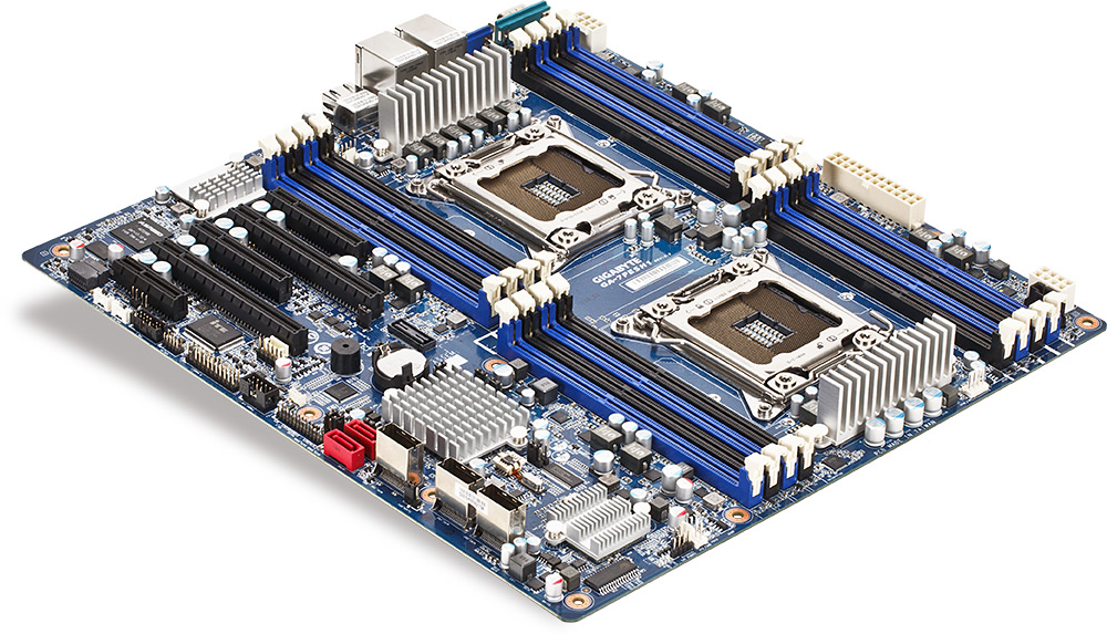 Gigabyte GA-7PESH1 Review: A Dual Processor Motherboard