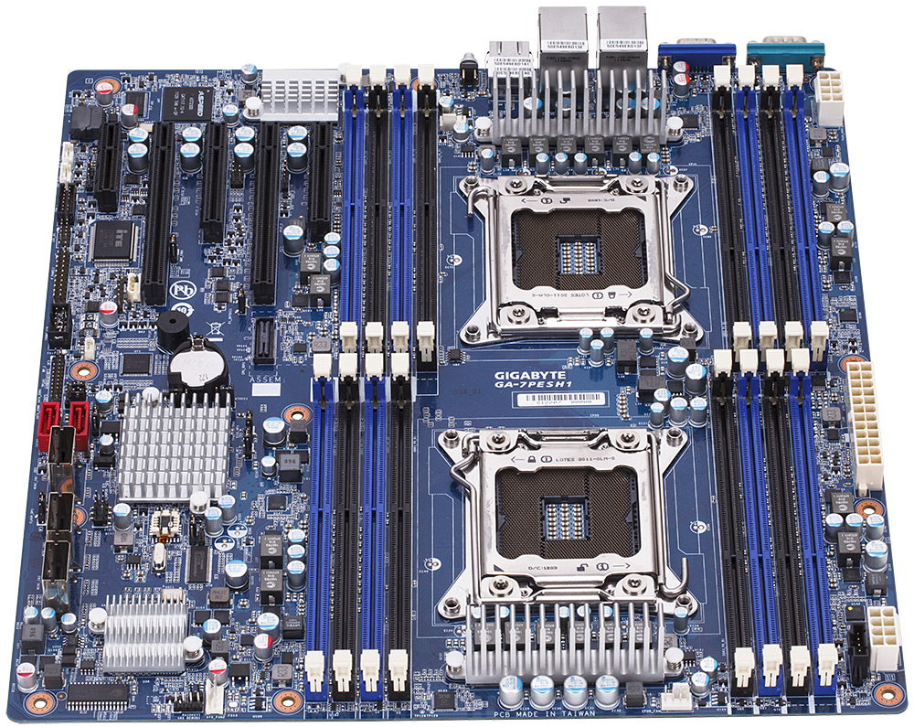 Gigabyte GA-7PESH1 Visual Inspection, Board Features