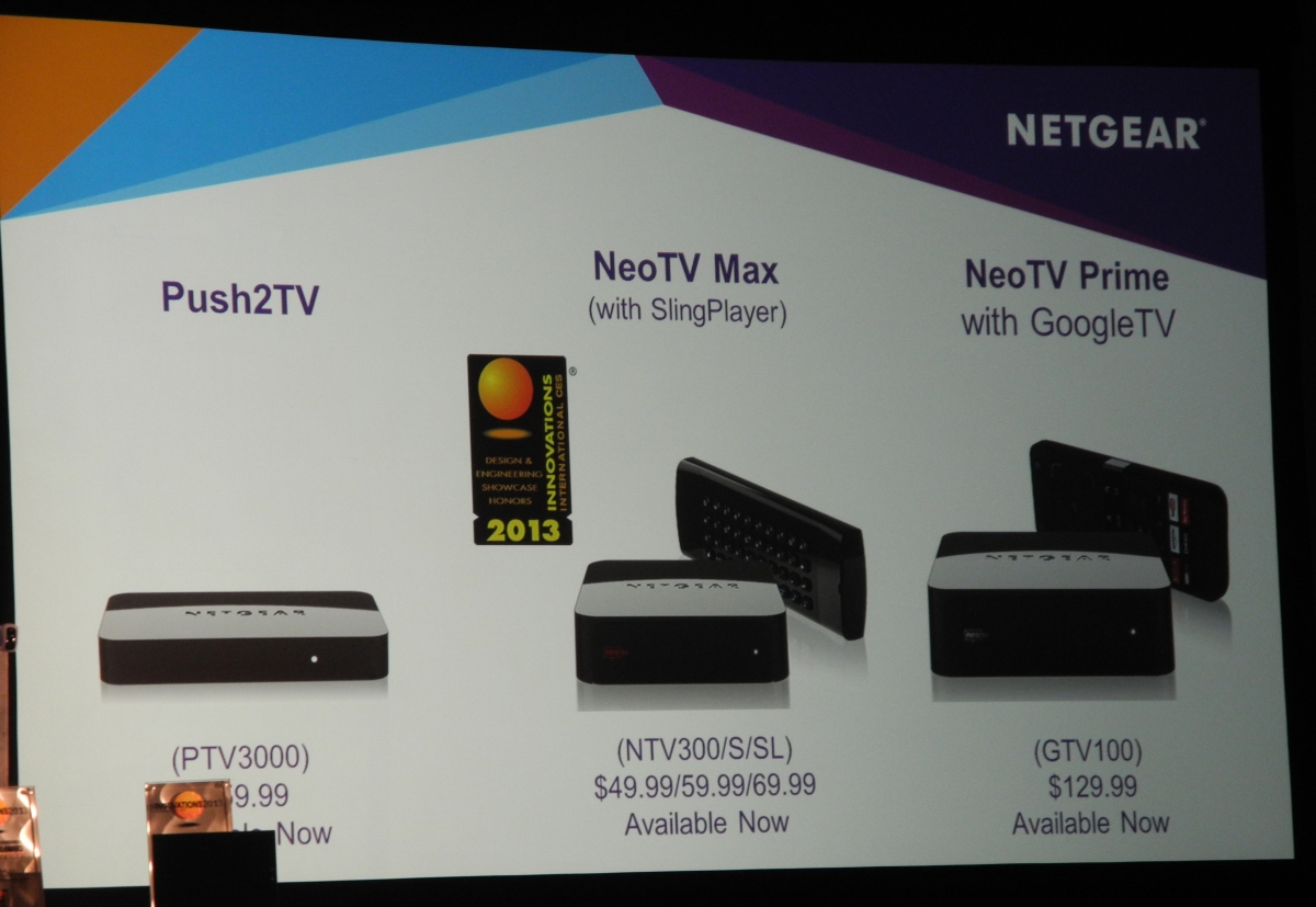 Netgear at CES 2013: Connected Entertainment Solutions