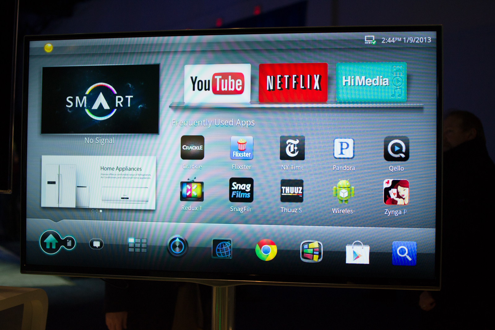 Checking Their Pulse: Hisense's Google TV Box at CES
