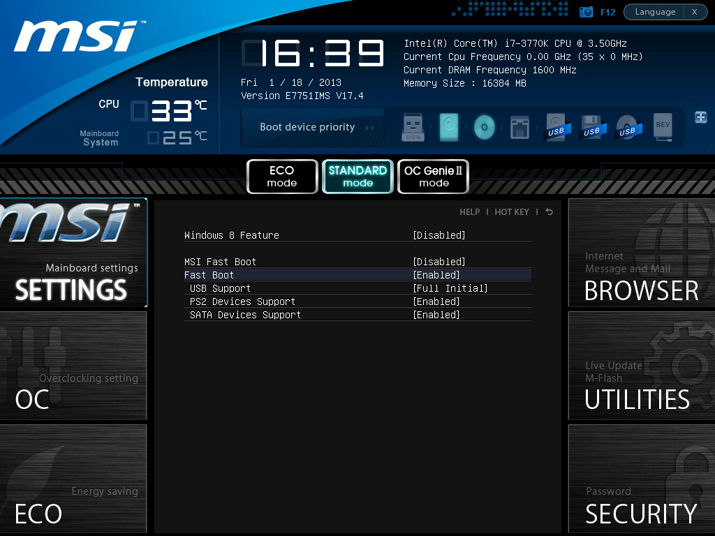 Msi boot menu key - Semi decent