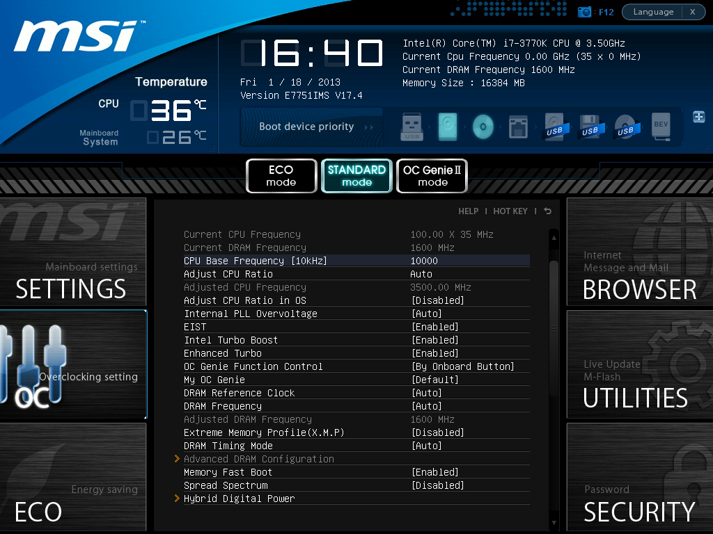 MSI OVERCLOCKING CENTER DRIVERS FOR PC