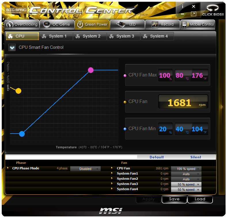 MSI Z77 MPower Software - MSI Z77 MPower Review: The XPower's Little