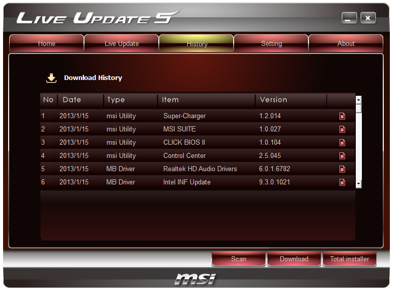 MSI Z77 MPower Software - MSI Z77 MPower Review: The