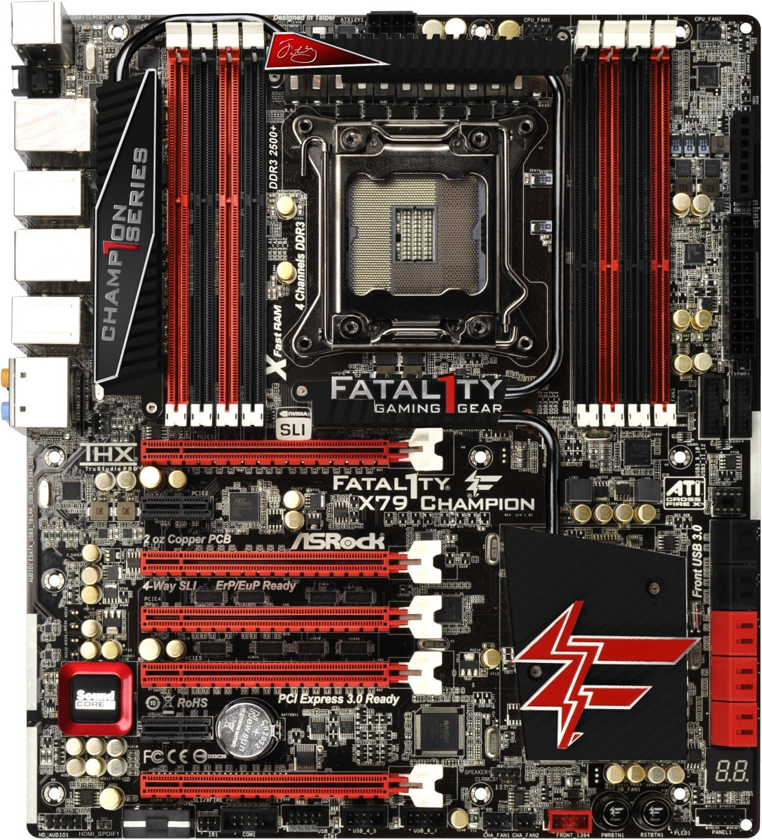 NEW DRIVERS: ASROCK FATAL1TY X79 CHAMPION INTEL CHIPSET
