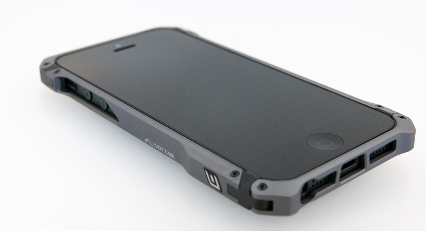 Metal Iphone  Case With Screws