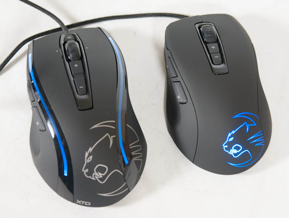 Capsule Review: ROCCAT's Kone XTD and Kone Pure Gaming Mice
