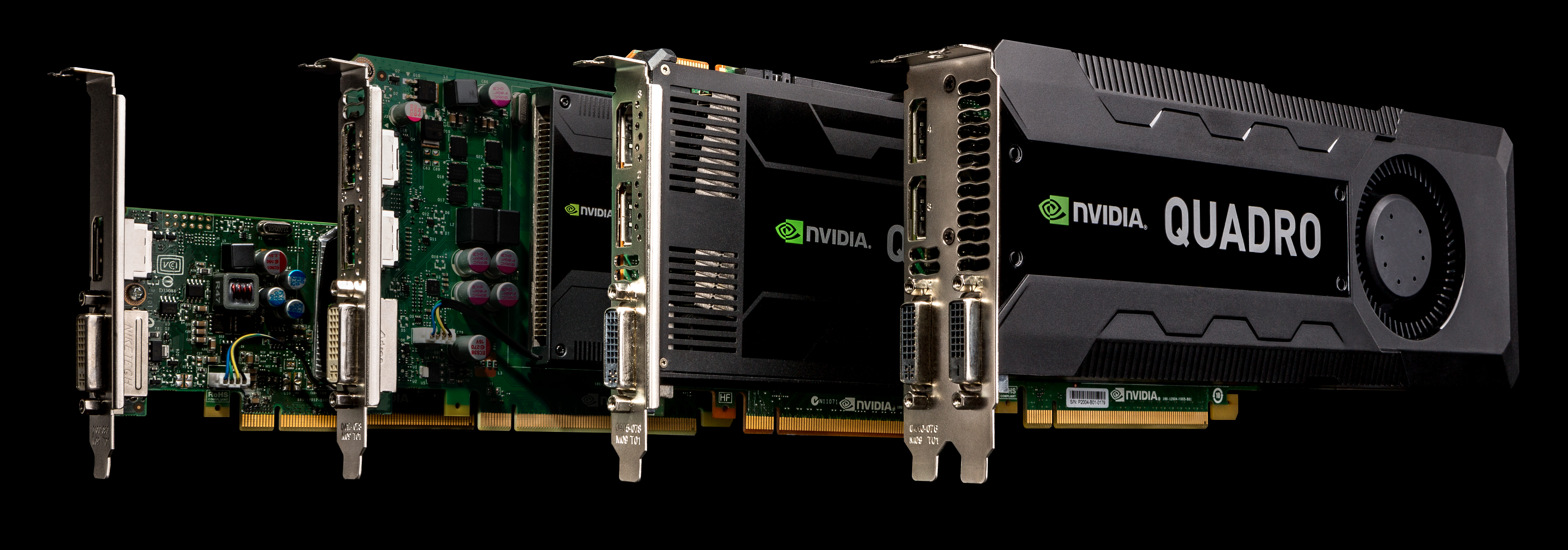 NVIDIA Launches Quadro K4000, K2000, K2000D, & K600