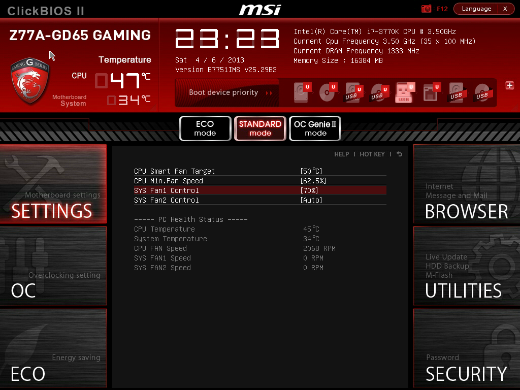 MSI Z77A-GD65 Gaming BIOS - MSI Z77A-GD65 Gaming Review
