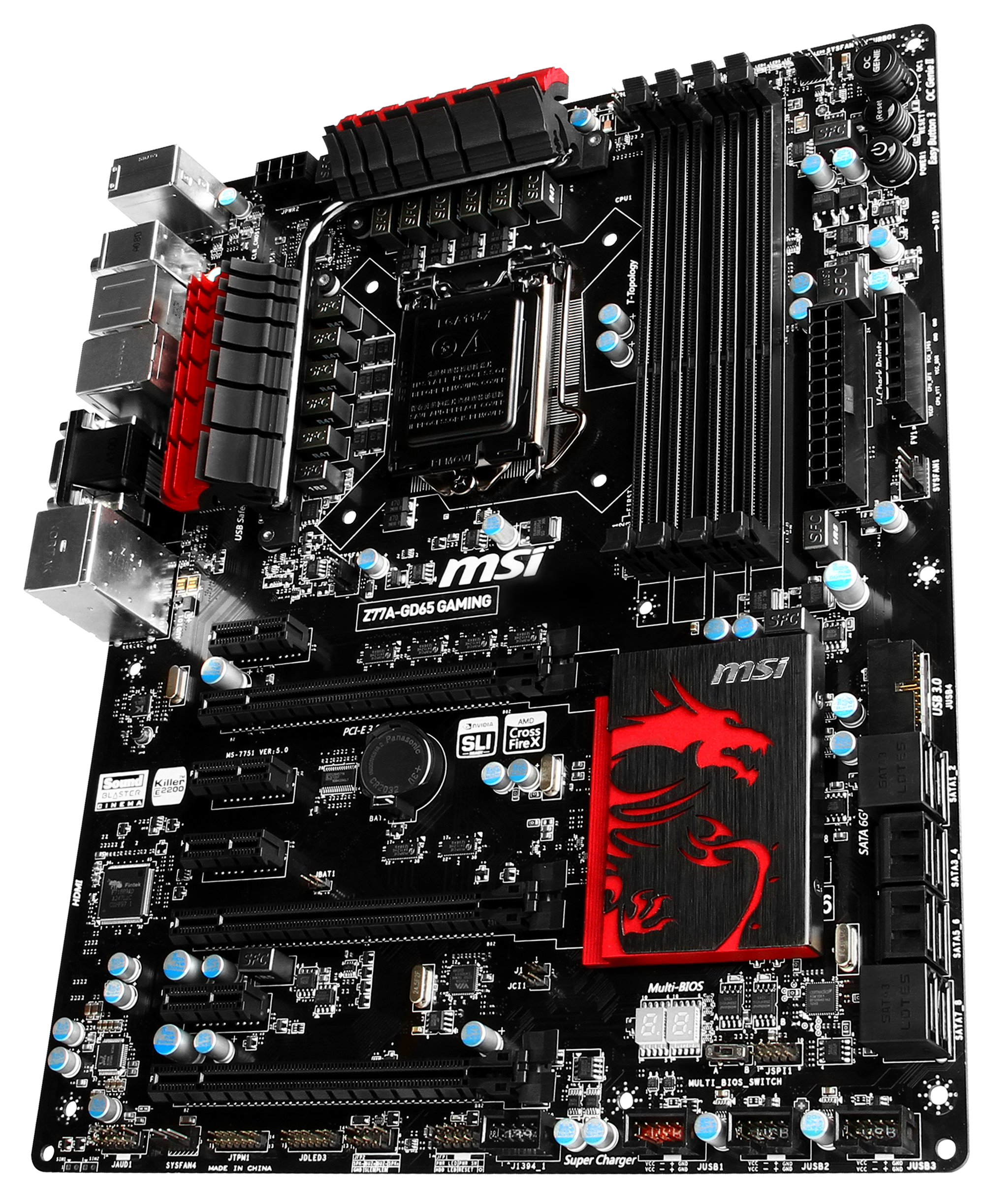 MSI Z77A-GD65 Gaming Review