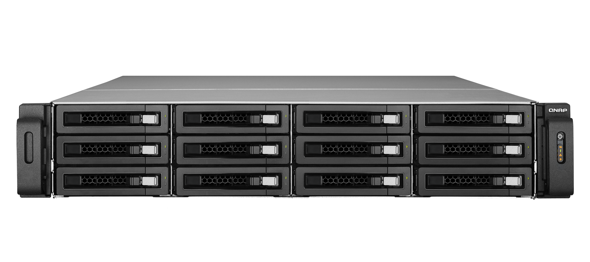 Qnap 39 s ts ec1279u rp 12 bay flagship rackmount nas review for Storage bay