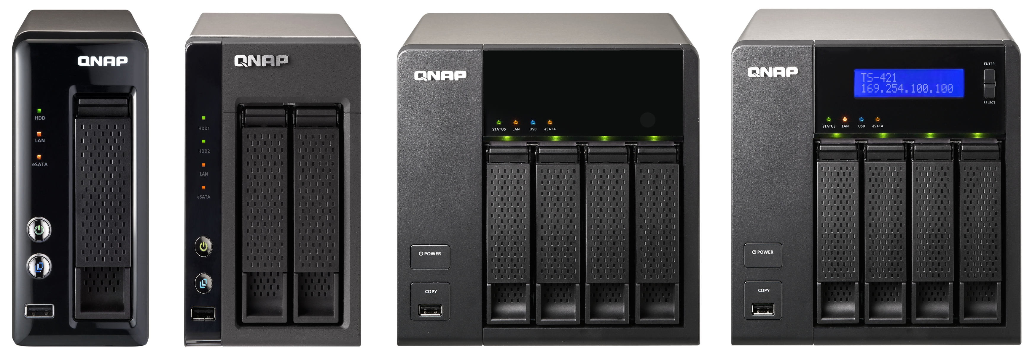 QNAP Lauches Marvell-based TS-x20 / x21 Series with Revamped