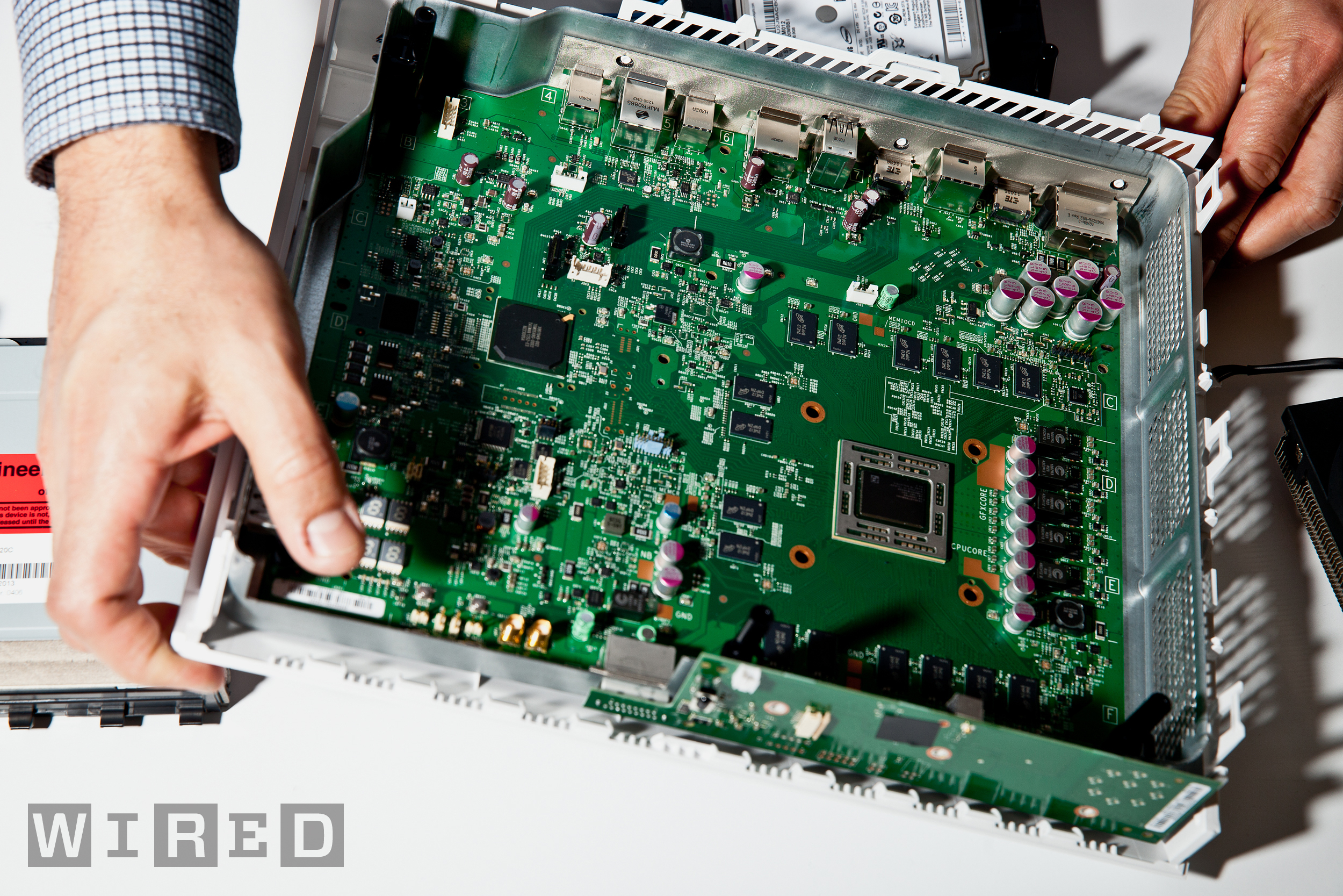 Xbox One Motherboard, courtesy Wired