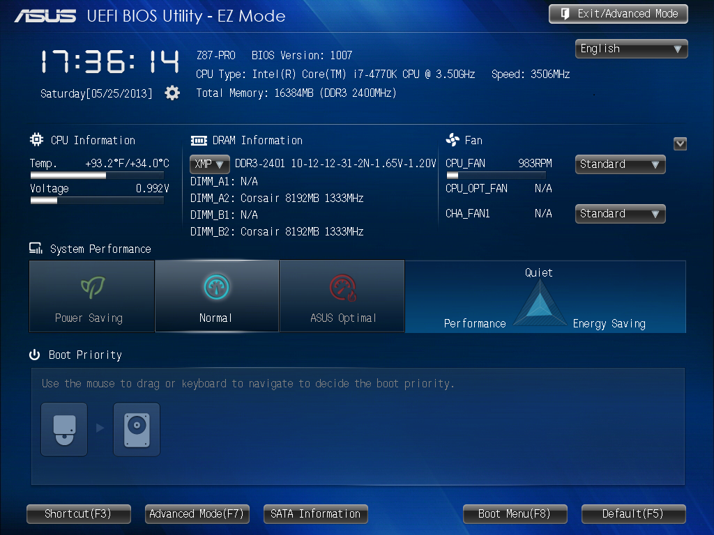 ASUS Z87-Pro BIOS - Intel Z87 Motherboard Review with Haswell