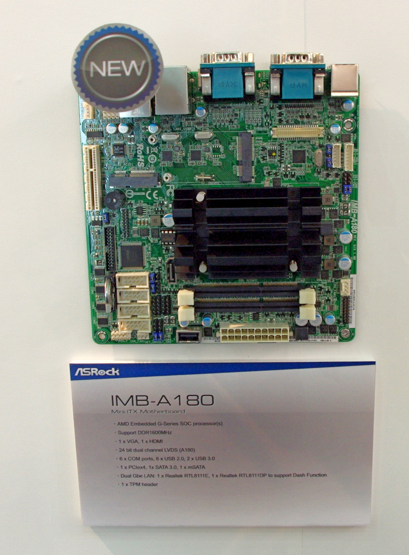 ASRock IMB-A180 Descargar Controlador