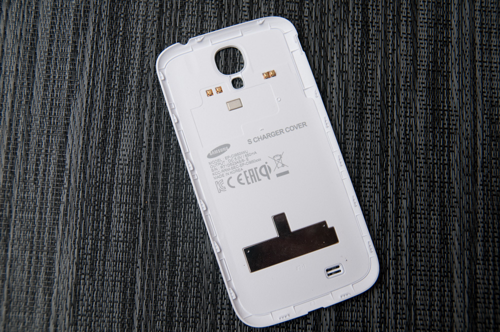 promo code b7342 797ea Samsung Galaxy S 4 Qi Wireless Charging Pad and Cover - Mini Review