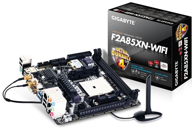 GIGABYTE F2A85XN-WiFi Review: FM2 and Richland in mini-ITX
