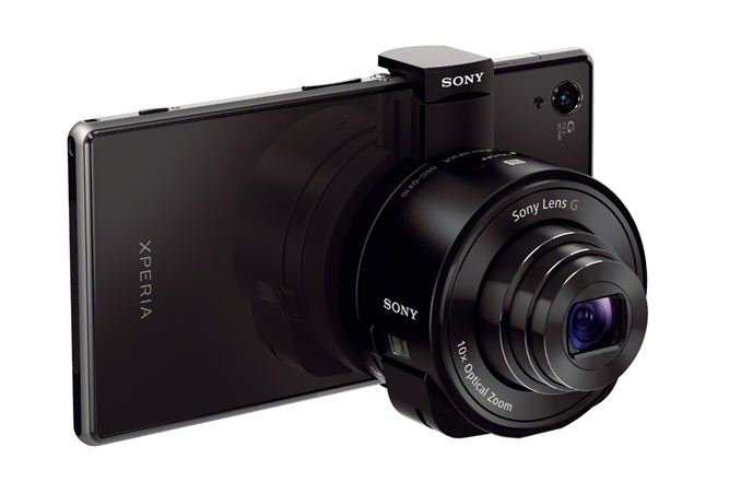 iphone camera lens sony announces attachable smartphone cyber 11688