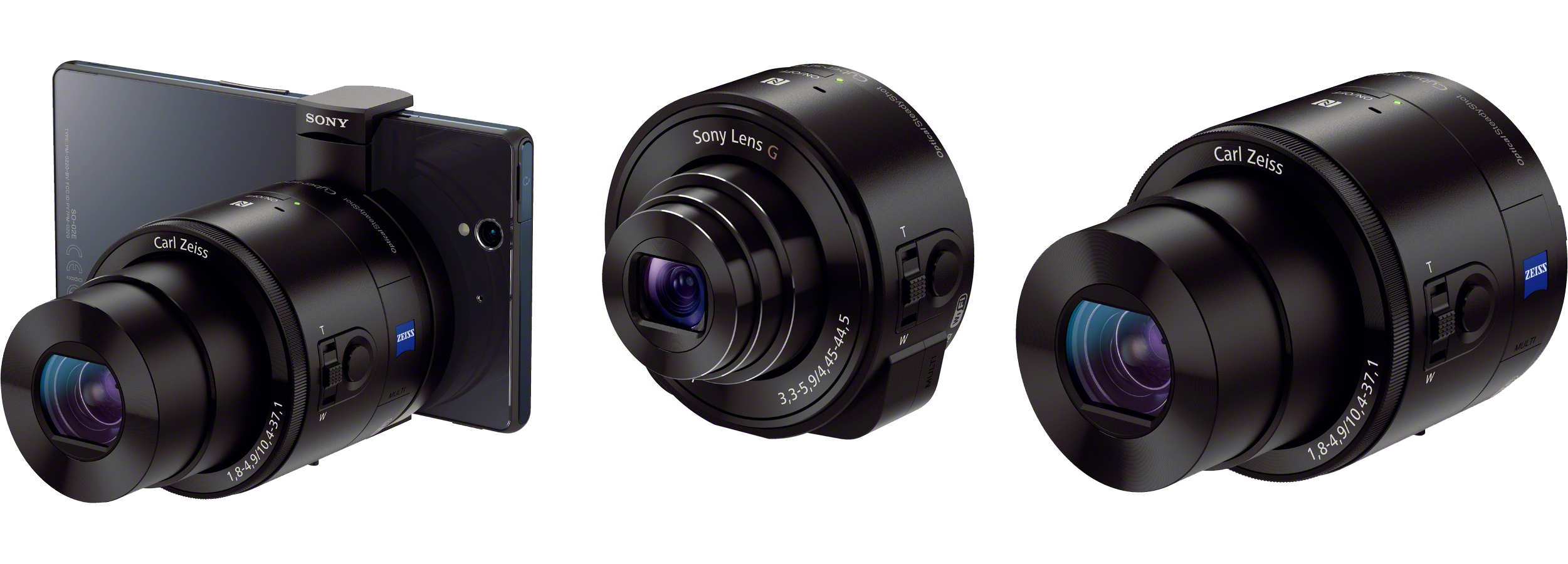 Sony Announces Attachable Smartphone Camera Cyber Shot