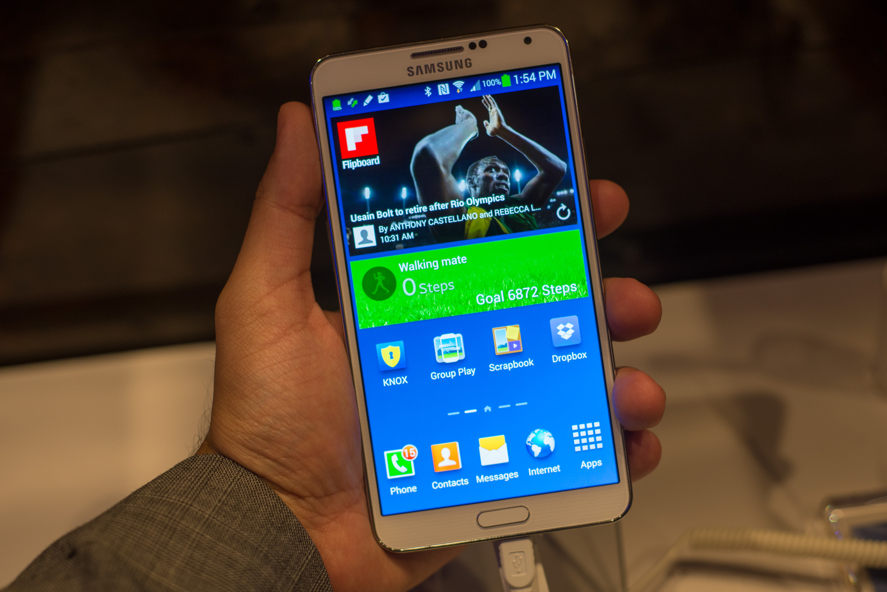 Samsung's Galaxy Note 3: Snapdragon 800 in a Slimmer Galaxy Note