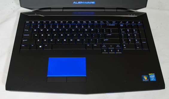 in and around the alienware 17 alienware 17 gaming notebook review rh anandtech com laptop keyboard explanation of keys laptop keyboard diagnostic