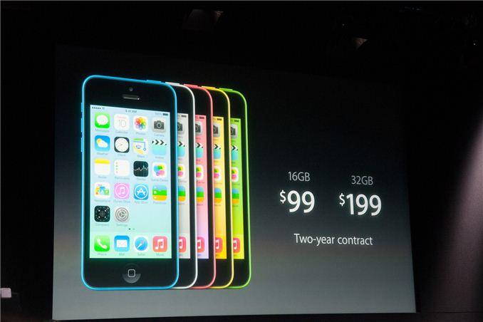 Apple Announces Iphone 5c