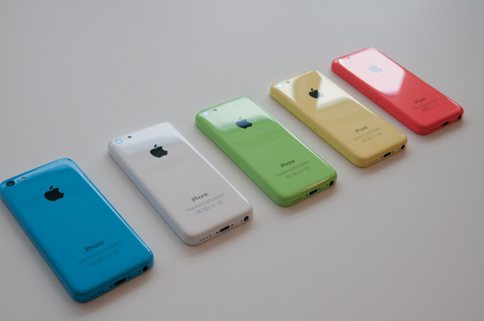 With the 5C Apple also...