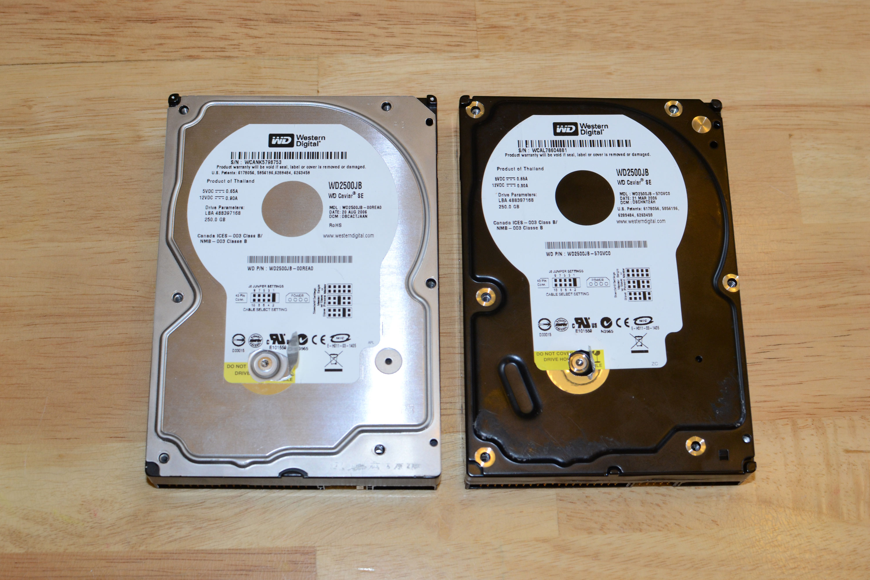 Hardware tricks: how to not fix a crashed hard drive