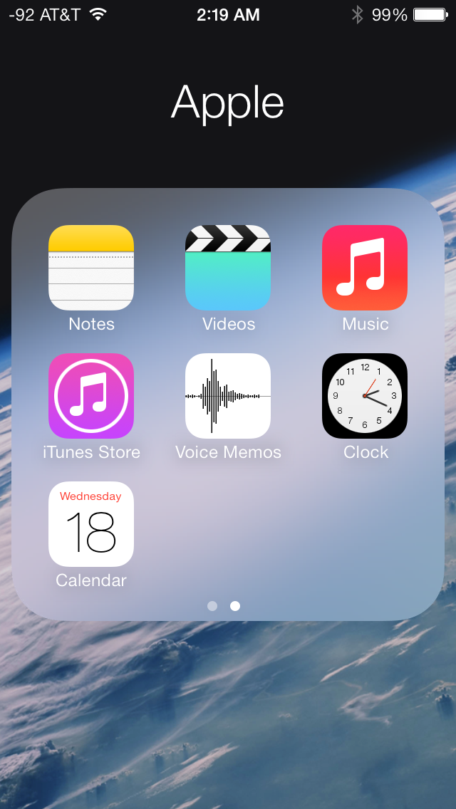 how to add a calendar to iphone the ios 7 review 7343