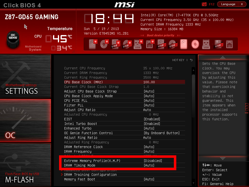Enabling XMP with ASUS, GIGABYTE, ASRock and MSI on Z87 - Memory