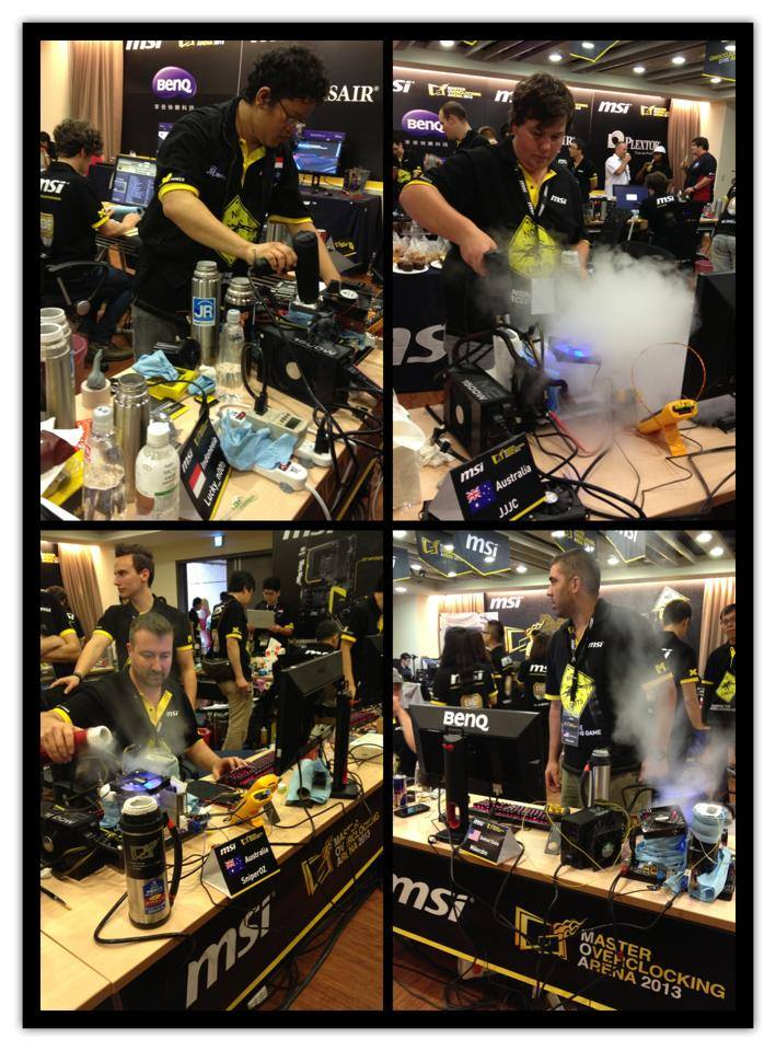 MSI 'Master Overclocking Arena' 2013: The Final