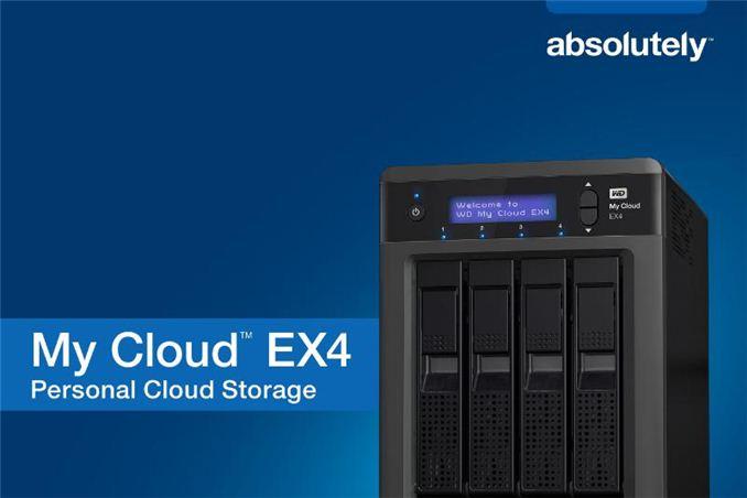 Ex4 >> Western Digital Updates My Cloud Lineup With 4 Bay Ex4