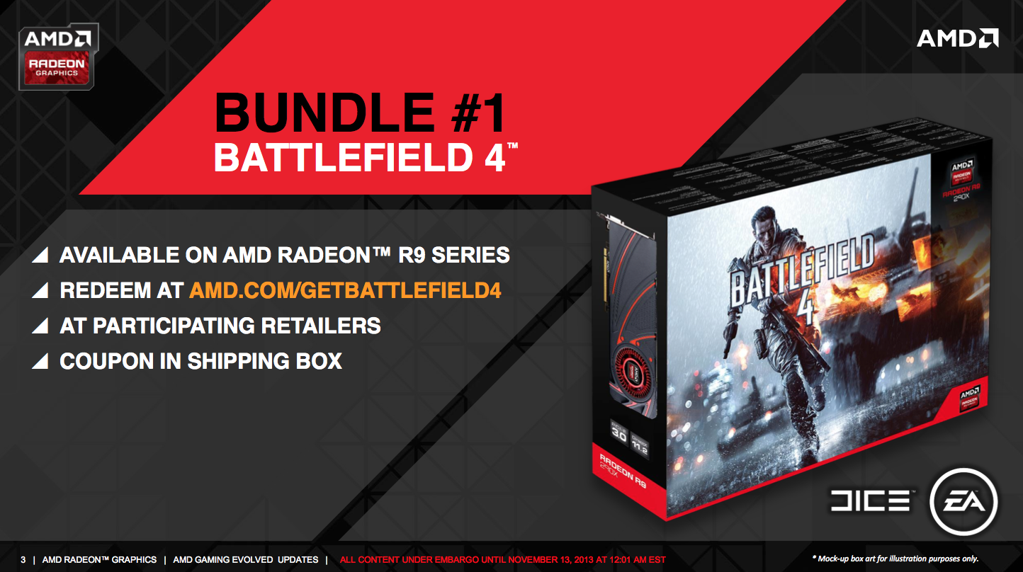 Update: AMD Announces New Game Bundles For Radeon R7 260X & Above