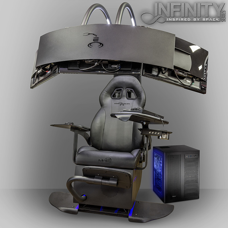 Reclining Video Game Chairs Gaming Immersion: OverclockersUK Launch Infinity Emperor Chair and ...