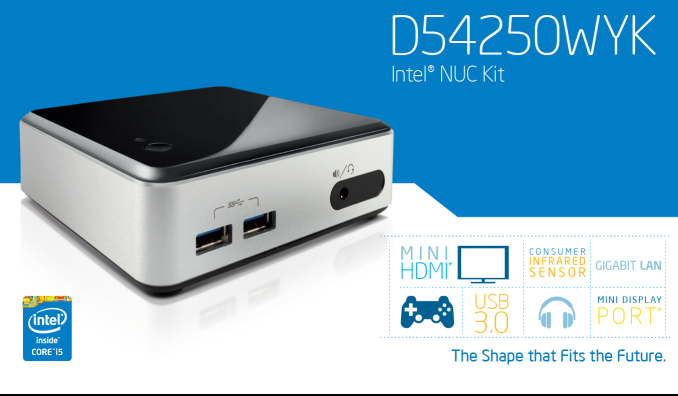 Intel's Haswell NUC: D54250WYK UCFF PC Review